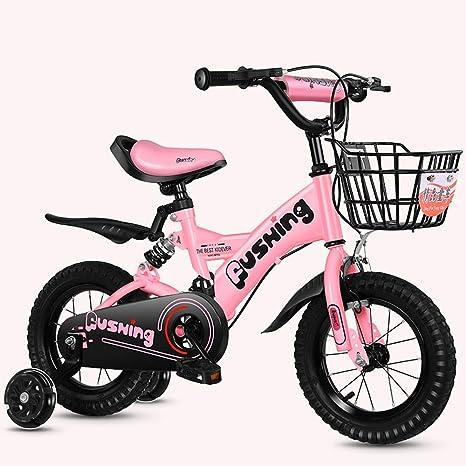TSDS Bicicleta de montaña de 12 Pulgadas para niños Bicicleta Azul ...