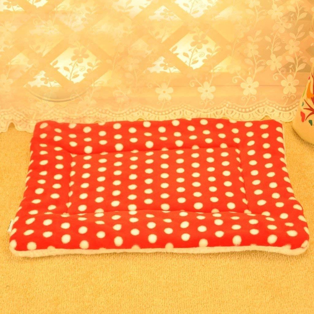 Yetta Coperta per Animali da da da Compagnia Cuscino per Cani da Compagnia Super Soft e Warm Dog Puppy Pet (colore  Rosso) 80bf66