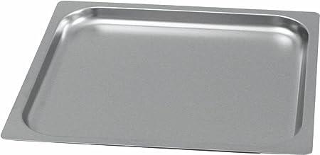 Gastronorm GN 2/3 - Bandeja para horno (borde liso, 20 mm de ...