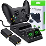 Controller Batteries Packs with Charger for Xbox One ,Dual Controller Charging