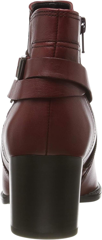 Gabor Damen Comfort Sport Stiefeletten Rot Dark Red Micro 58