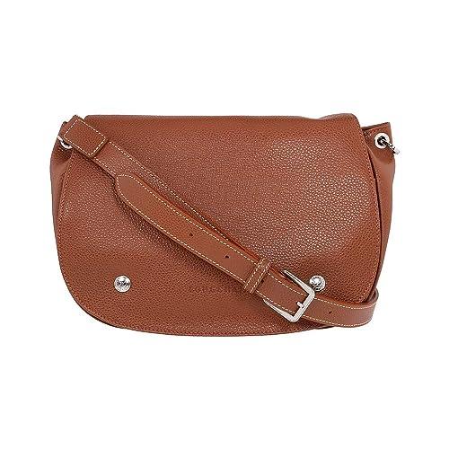 c8705a34c17 Longchamp Le Foulonne Ladies Small Leather Hobo Bag L1334021504  Amazon.ca   Shoes   Handbags