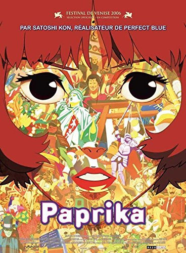 Paprika - French Style Movie Poster