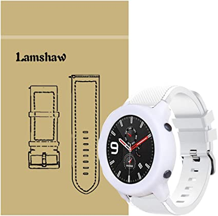 Amazon.com: for Amazfit GTR 47mm Band with Case, Blueshaw ...