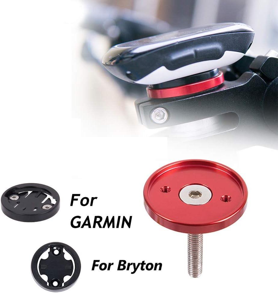 CYSKY Garmin Edge Mount Soporte de Tapa Superior de v/ástago de Bicicleta para Garmin Bryton Cycling GPS Computer Fit Garmin 1000,820,810,800 , 520,510,500,200 y Bryton 530 330 310 100