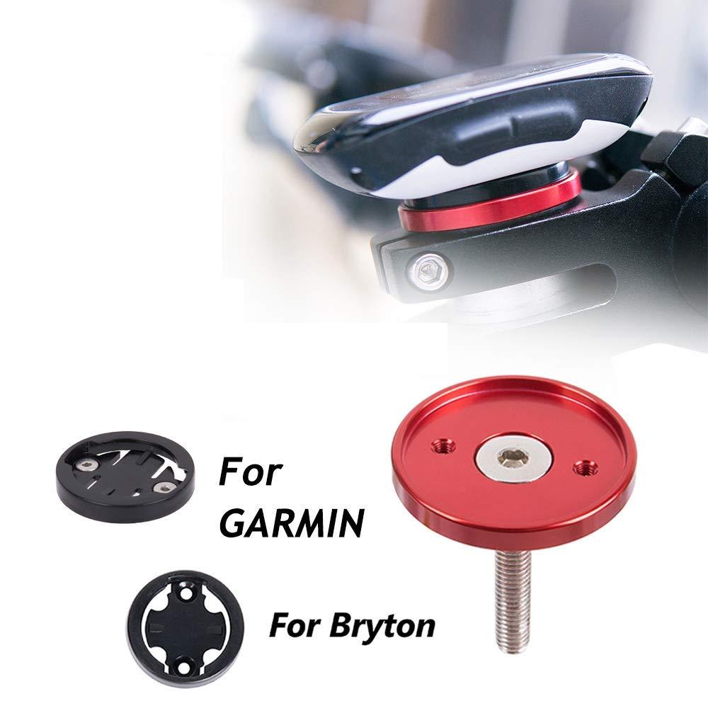 Fit Garmin 1000,820,810,800, 520,510,500,200 and Bryton 530 330 310 100 Bike Stem Top Cap Holder for Garmin Bryton Cycling GPS Computer CYSKY Garmin Edge Mount