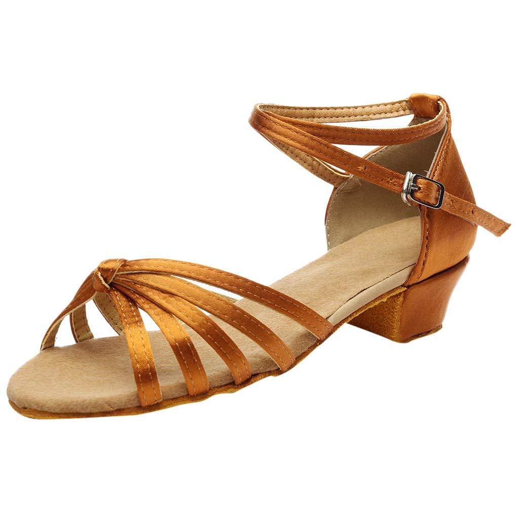 US [Rakkiss_Shoes] ブラウン 6 M B07L8TJ5L6 レディース