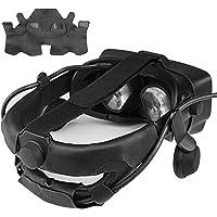 KIWI design Huvudbandsskydd för Ventil Index Virtual Reality VR headset tillbehör med bekvämt PU-läder, svettsäkert och…