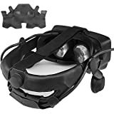 KIWI design Head Strap Cover for Valve Index Virtual Reality VR Headset Accessories with Comfortable PU Leather, Sweat-Proof
