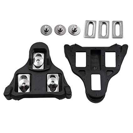 957916d93d29 FOOKER Road Bike Cleats 6 Degree Float Self-Locking Cycling Pedals Cleat  for SH-
