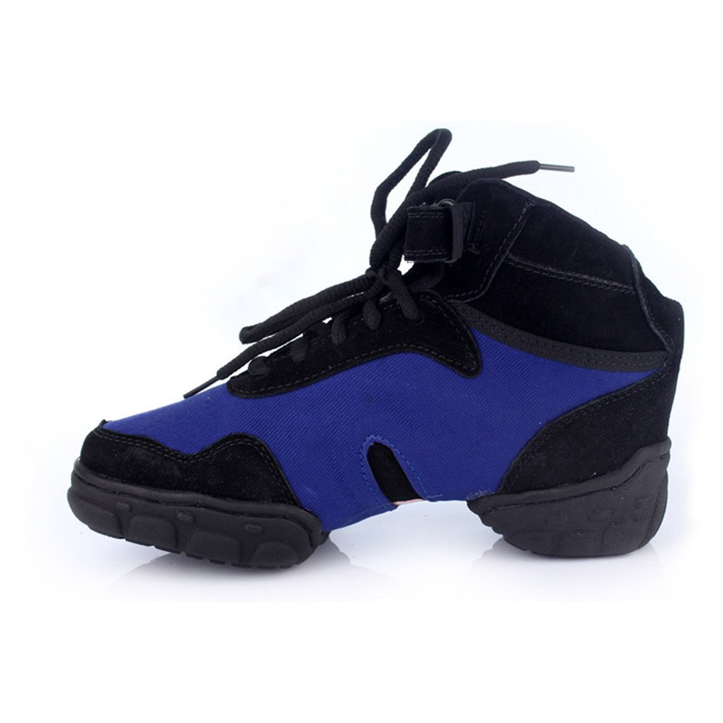 ZQ@QXDer moderne Frauen Schuhe im weichen Boden größe Tanzschuhe Blau tanzschuhe Blau Tanzschuhe 01fba2