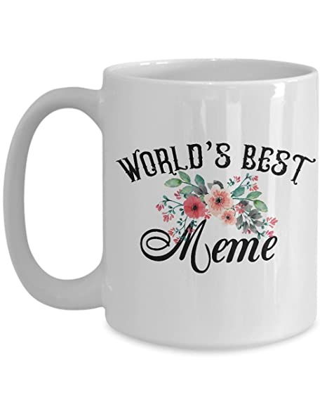 Amazon.com: Meme taza World s Best Meme Ever tazas de café ...