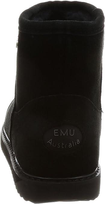 DAMENSCHUHE EMU AUSTRALIA PATERSON CLASSIC MINI OAK W11619 WILDLEDER STIEFEL