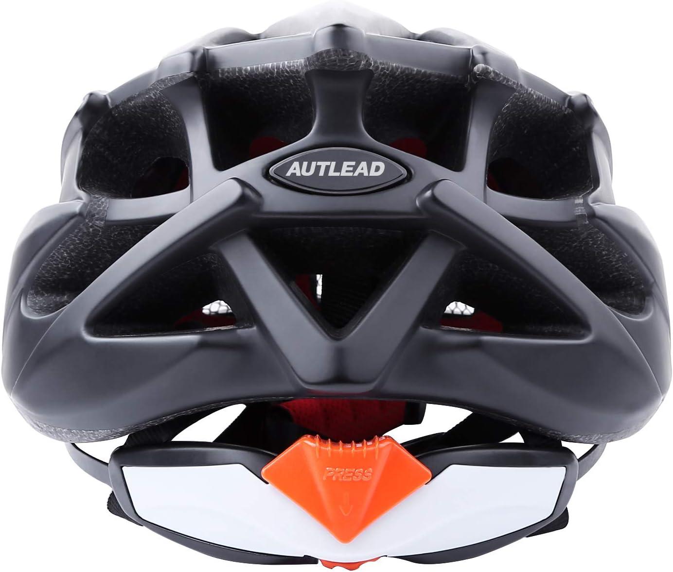 DesignSter Integrierter Fahrradhelm mit LED-Sicherheitslicht Verstellbarer Fahrradhelm mit abnehmbarem Visier//Ersatzfutter atmungsaktiver Helm f/ür Rennradfahrer und Mountainbiker