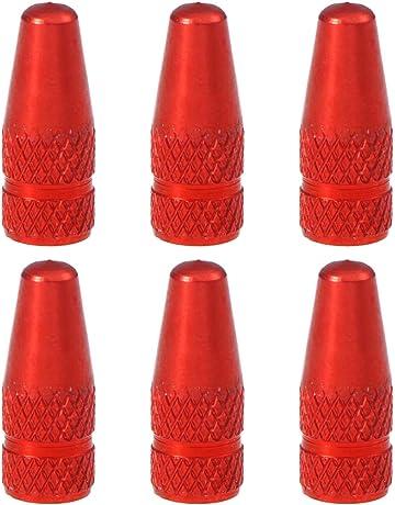 Goliton/® Valve testa del cranio design auto per pneumatico della gomma della rotella antipolvere tappi