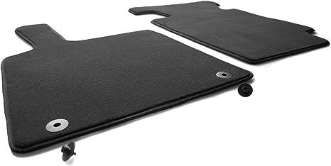 Smart ForTwo 451 Allwetter Fussmatten Set 2-teilig schwarz