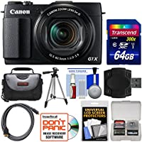 Canon PowerShot G1 X Mark II Wi-Fi Digital Camera with 64GB Card + Case + Tripod + Accessory Kit Advantages Review Image