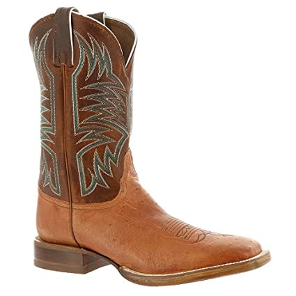 79c2781aad9 Amazon.com: Justin Western Boots Mens Smooth Quill Ostrich Broad ...