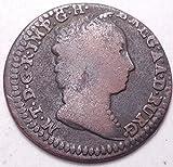 NETHERLANDS AUSTRIAN 1750 1 LIARD...FOREIGN COIN