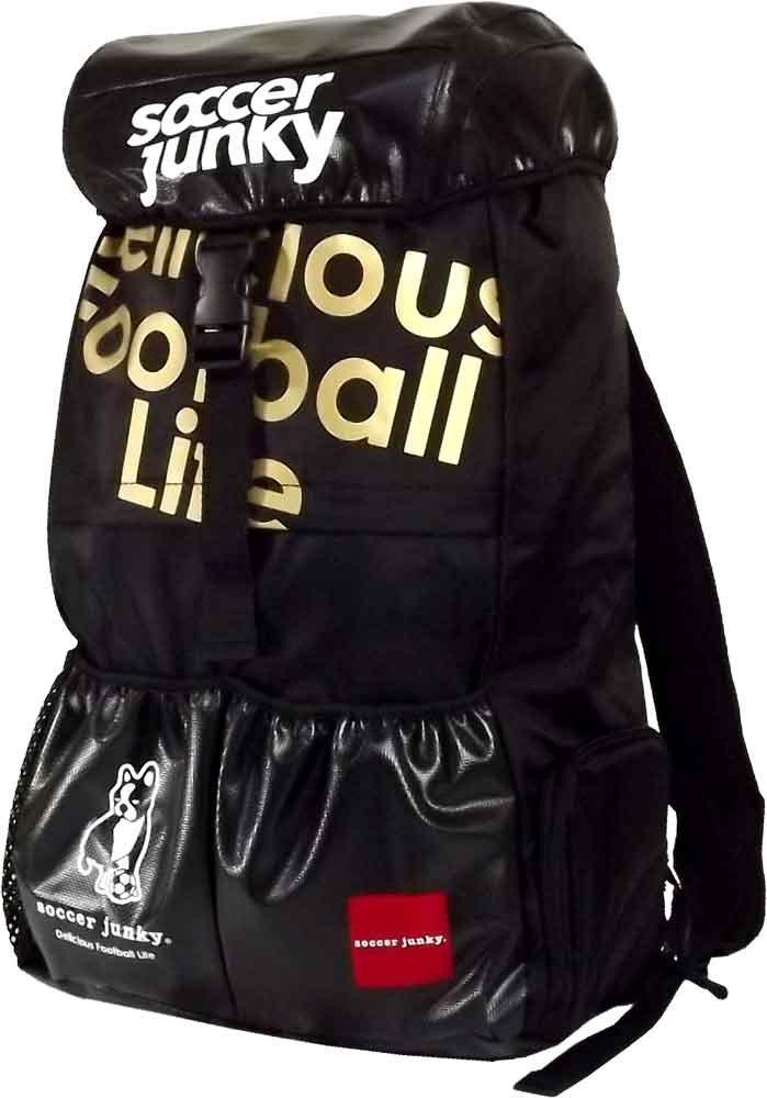 soccer junky(サッカージャンキー) バックパック 旅のおとも+2 SJ16029 B01C46I6DK [02](ブラック) Fサイズ
