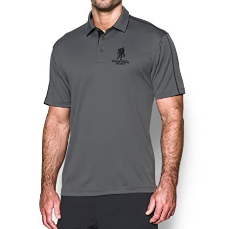 Under Armour Mens Freedom WWP Polo, Graphite/Black, Small: Amazon ...