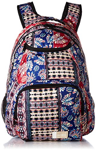 Roxy Junior's Shadow Swell Backpack, marshmallow swim vertical flow, 1SZ (Backpack Laptop Roxy)