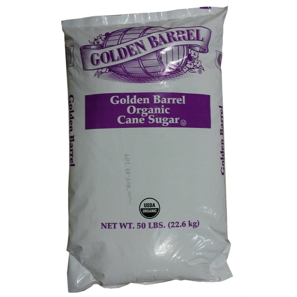 Golden Barrel Organic Cane Sugar