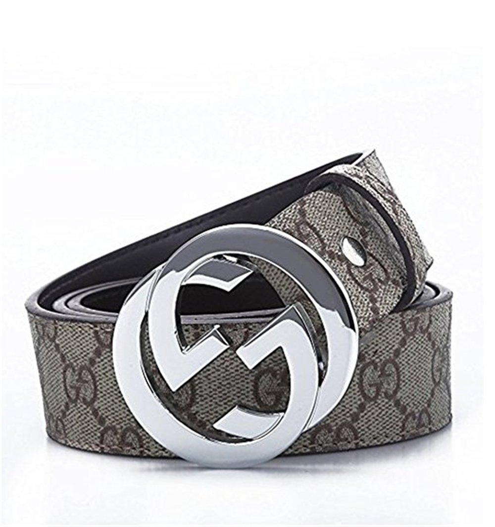 Men's Silver Buckle GG Belt gifts for men