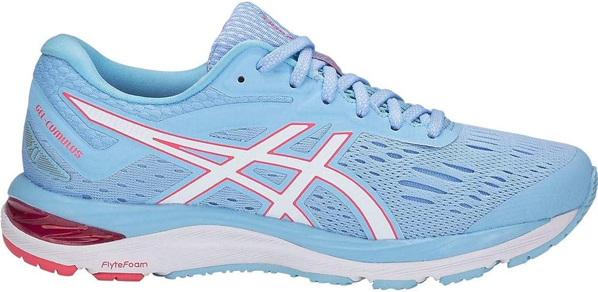 ASICS Gel-Cumulus 20 - Zapatillas de correr para mujer, Azul (Skylight/Blanco), 36 EU: Amazon.es: Zapatos y complementos