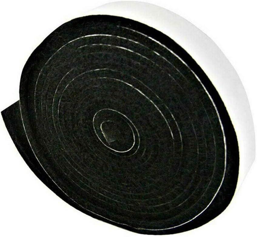 Byilx Gasket High Heat Barbecue Smoker Gasket BBQ Door Lid Seal Adhesive Self Stick 2cmx3.6m Kitchen