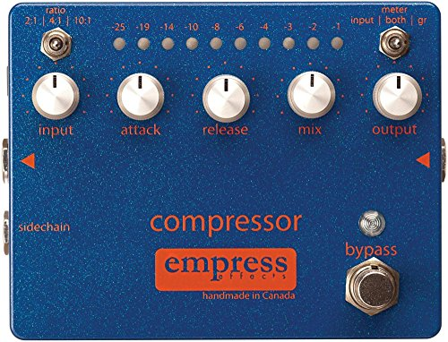 Empress Effects Compressor Analog Compression Guitar Effects Pedal from Empress Effects