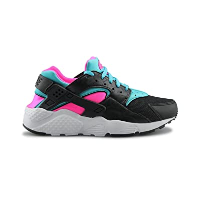 nike huarache girls black