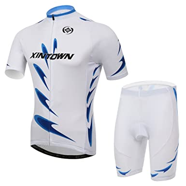 Amazon.com: Bicicleta Jersey playera de manga corta para ...