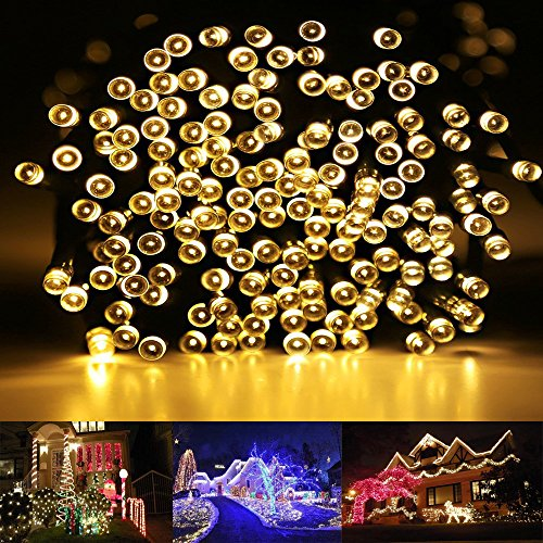 Amazon.com : RockBirds SL200-M Lighting Chain 200 LED Waterproof ...
