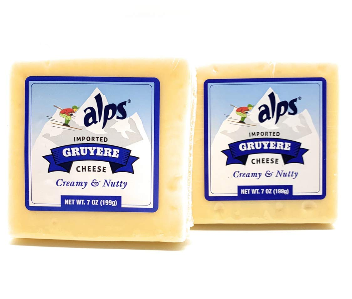 Imported Swiss Gruyere 7oz (2 pack)