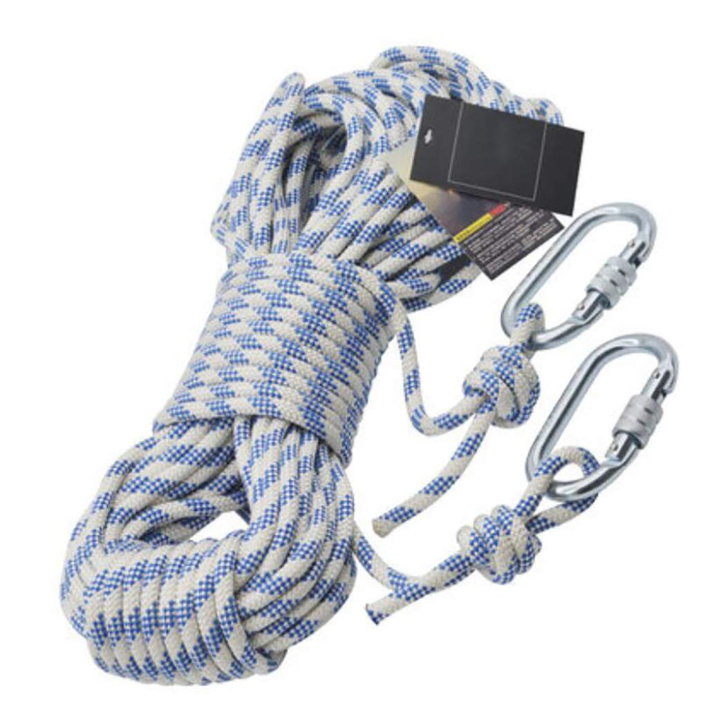 新作 HSBAIS アウトドア クライミングロープ ザイルガイロープ アウトドア 安全、8mm HSBAIS 太さ プロ プロ 高強度 アクセサリーとカラビナ B07QLKX5RM 100m(328ft), メヌママチ:ce4d8d8c --- a0267596.xsph.ru