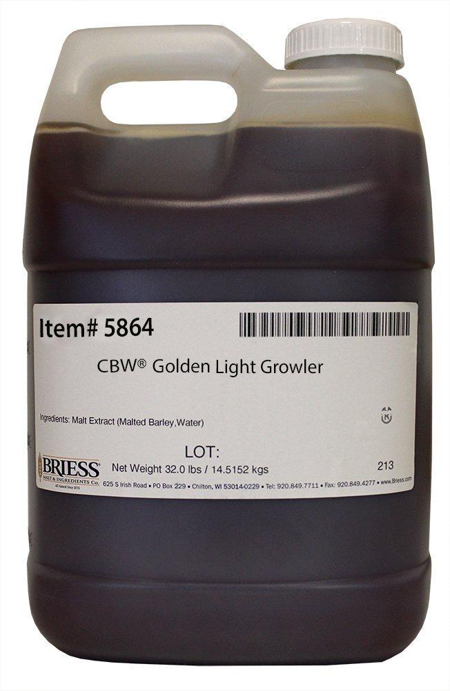 Briess 5864 Liquid Malt Extract 32 lb. Growler, Golden Light by Briess (Image #1)