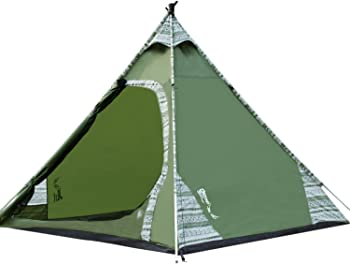 Deeko 2-3 Person Teepee Waterproof Tent
