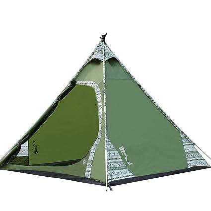 DEEKO 2 3 Person Teepee Tents Waterproof Lightweight Tents Easy Setup For  Camping Backyard Kids