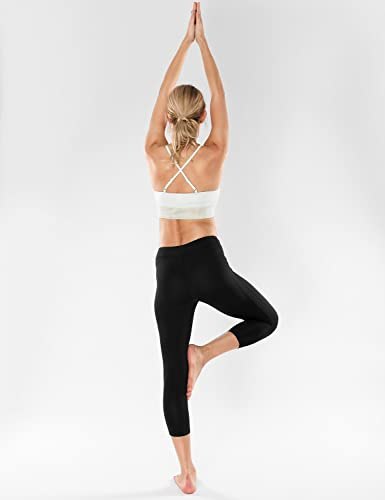 af1dc5f1b0 CRZ YOGA Women s Cross Back Glossy Mesh Camisole Longline Yoga Sports Bra  Top  Amazon.co.uk  Clothing