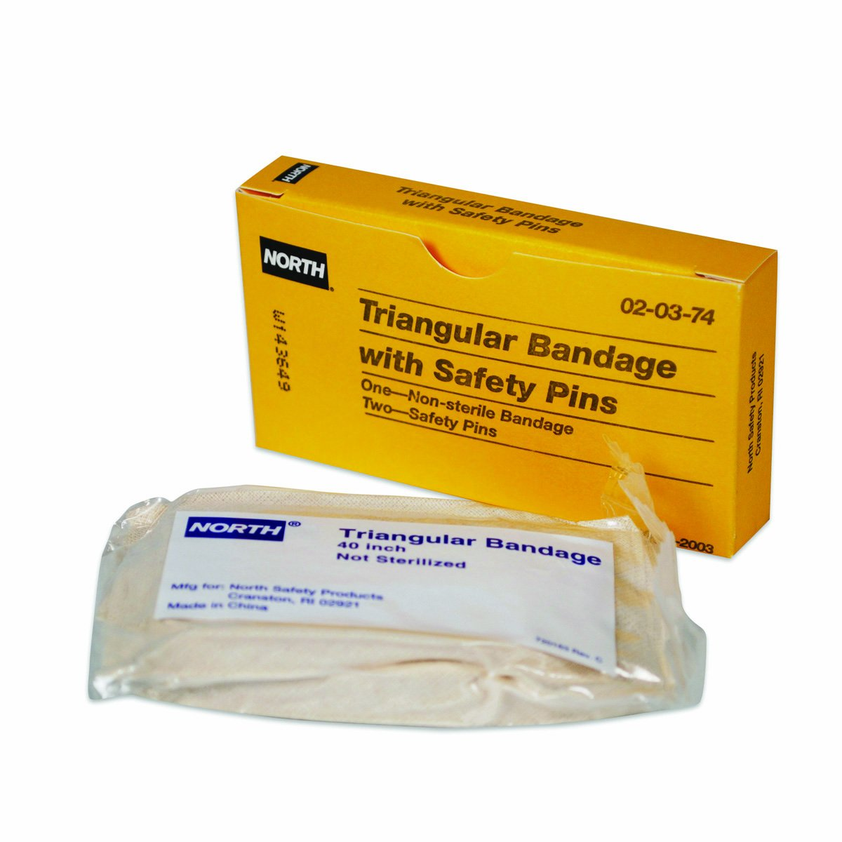 North by Honeywell 020374 Triangular Bandage, Non-Sterile, Unbleached, 1 per unit