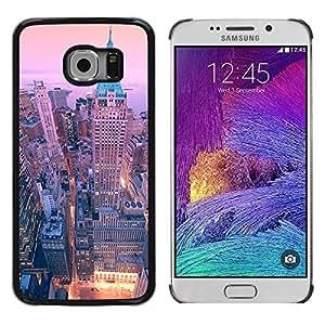 Cover for Samsung Galaxy S6 EDGE 40 wall street new york city skyline