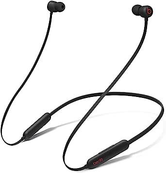Trådlösa BeatsFlex-öronsnäckor – AppleW1-hörlurschip, magnetiska öronsnäckor, Class1Bluetooth, 12timmars lyssning – svart