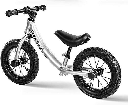 SJSF Y Bicicleta de Equilibrio para niños, Bici Equilibrio de Altura del Asiento Ajustable para niños