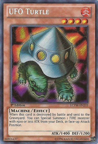 Yu-Gi-Oh! - UFO Turtle (LCYW-EN233) - Legendary Collection for sale  Delivered anywhere in USA