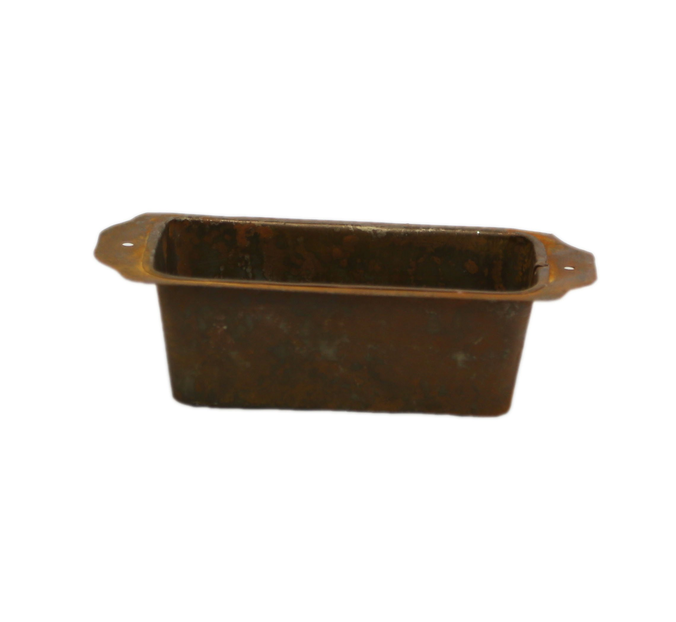 Rusty Decorative Loaf Pan - Set Of 3