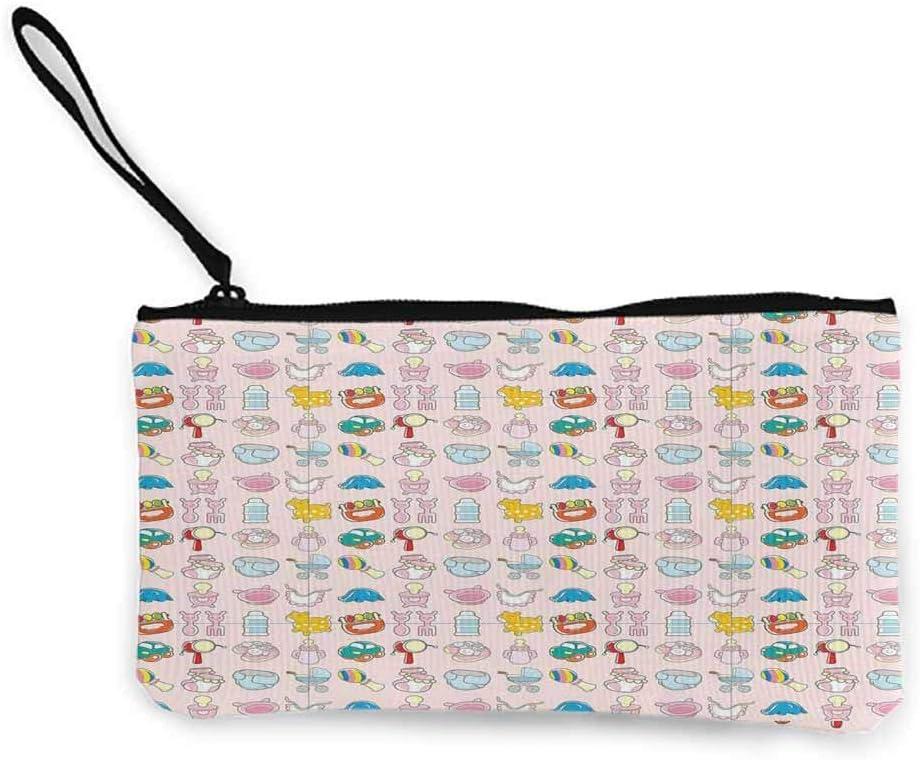 Baby, Cute Coin Purse Una vasta colección de Juguetes Dibujo de Dibujos Animados Cochecito Drum Car Chupete Slide Playthings W 8.5 x L 4.5 Carteras para Mujer: Amazon.es: Equipaje