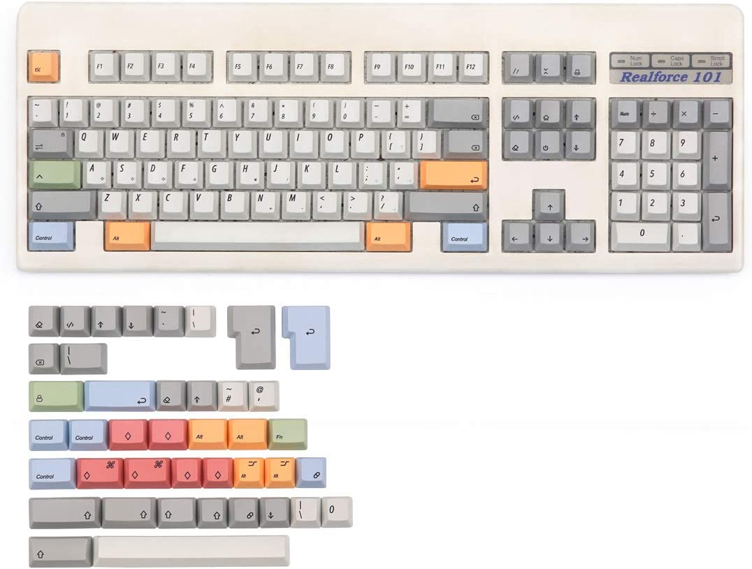 PBT Keycap Topre Realforce 87 and 104 Hhkb Keycap Capacitor Keycap FC660C Keycap Italic Letter SSSLG Capacitor Keycap Fc980c Keycap