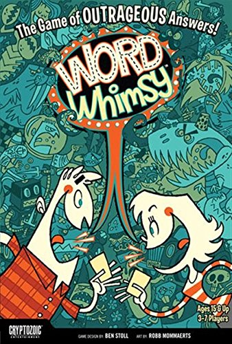 Word Whimsy Board Game -