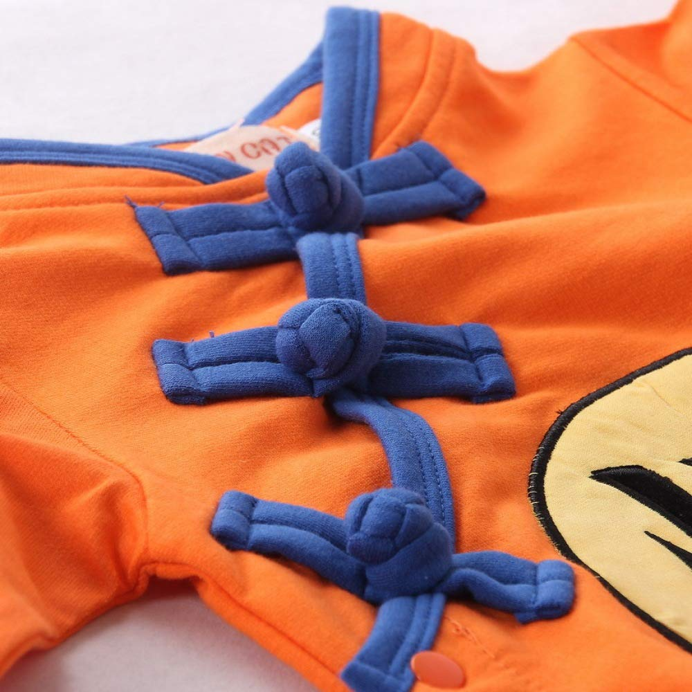 Acccity Jumpsuit Baby DBZ Goku Long Sleeve Romper Costume